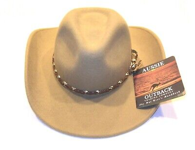 1ce8cbda75f Aussie Outback Trading Co. Adventure Collection Wool Hat Water Repellent  Crusher