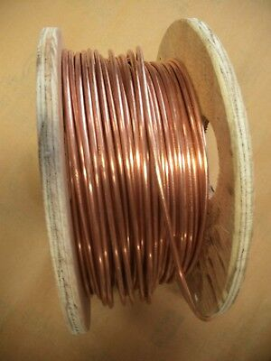 6/1 6 Gauge 1 conductor Solid Soft Drawn Bare Copper Wire 10 ft.
