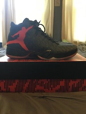 35fb59164942 ... spain rare nike air jordan xx9 29 black team orange basically new size  9.5 0c713 6c6e3
