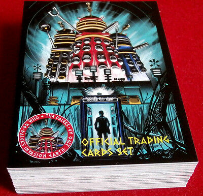 DR WHO & THE DALEKS - COMPLETE BASE SET (all 54 cards) - Unstoppable Cards 2014