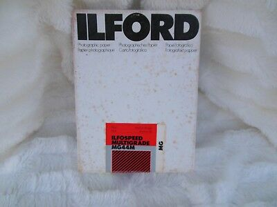 Ilford Ilfospeed MG Medium 180 Pearl 100 Sheets Unopened Black and White 8 X 10