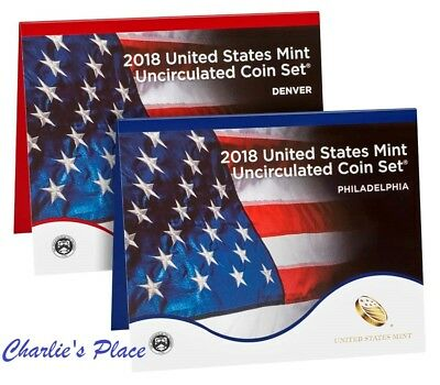 2018 Uncirculated Coin Set