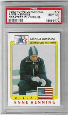 Sports Trading Cards Rare 1983 Topps Olympians Karl Warner #14 Psa 10 ~ Gold Medal World Record ~ Usa Olympics Cards