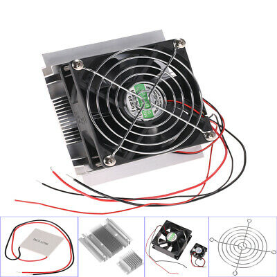 TEC1-12706 60W Thermoelectric Peltier Plate Module Cooling System DIY Kit A5F5