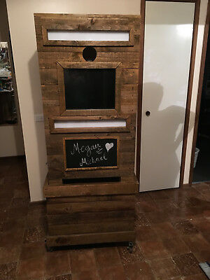Popular Rustic Timber Photo Booth For Sale - Shipping Available