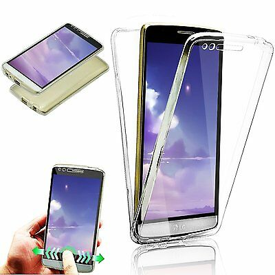 360° Full Protective Shockproof Clear Gel Case Cover For LG K10 K8 2017 G6 Phone