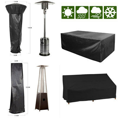 Large Small Waterproof Outdoor Garden Patio Set Kit Cover For Table Bench Heater