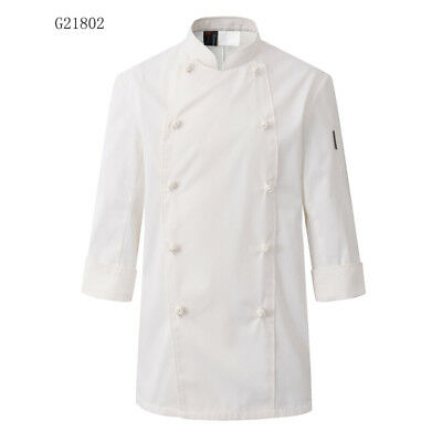 Food Service Chef Jacket Breathable Coffee Bar Chef Uniform For Man