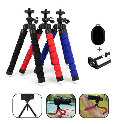 Universal Octopus Flexible Stand Tripod Mount Holder for Cell Phone Camera Video