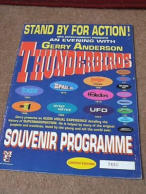 Thunderbirds Stand By For Action Souvenir Programme Limited Edition No 7480 Mpc