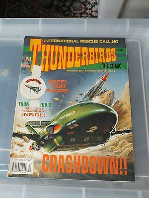 THUNDERBIRDS The Comic - Issue No 2 1991 - V.GOOD CONDITION GERRY ANDERSON