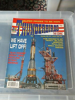 THUNDERBIRDS The Comic - Issue No 6 1992 - N.MINT CONDITION GERRY ANDERSON