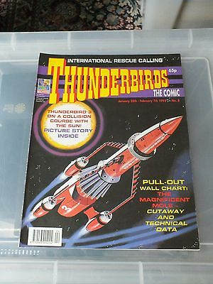 THUNDERBIRDS The Comic - Issue No 8 1992 - N.MINT CONDITION GERRY ANDERSON