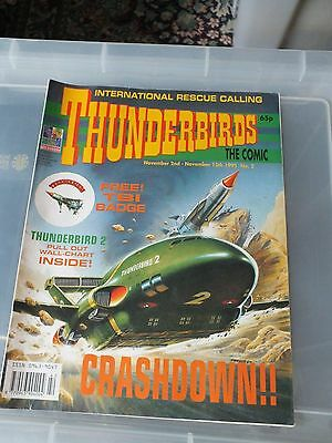 THUNDERBIRDS The Comic - Issue No 2 1991 - N.MINT CONDITION GERRY ANDERSON
