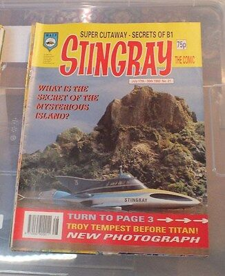 Stingray The Comic No 21 July 17th  -July 30th 1993 GERRY ANDERSON - EXC.