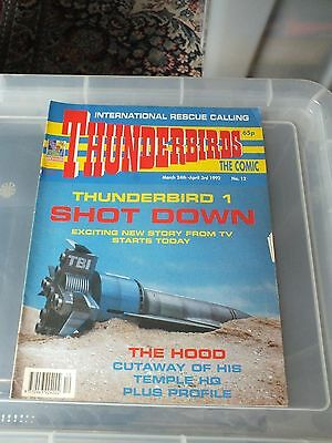 THUNDERBIRDS The Comic - Issue No 12 1992 - N.MINT CONDITION GERRY ANDERSON
