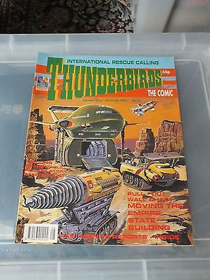 THUNDERBIRDS The Comic - Issue No 10 1992 - N.MINT CONDITION GERRY ANDERSON