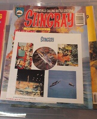 Stingray The Comic No 13 March 27th-April 9th 1993 GERRY ANDERSON - EXC.
