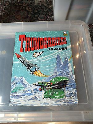 Thunderbirds in action1992 very good condition vintage item comic albums ravette