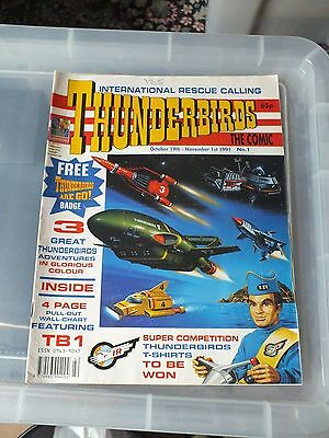 THUNDERBIRDS The Comic - Issue No 1 1991 - V.GOOD CONDITION GERRY ANDERSON