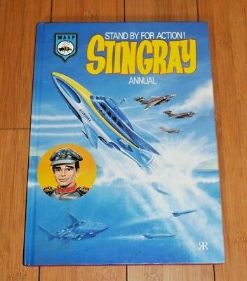 Stingray Annual 1993 Gerry Anderson Itc Rare Original Mint Condition   A455