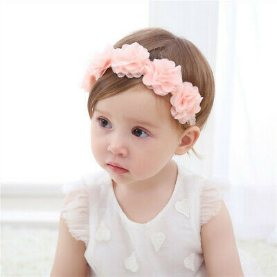 Toddler Baby Girl Kids Elastic Floral Headband Hair Hairband Headwear Hot Sale