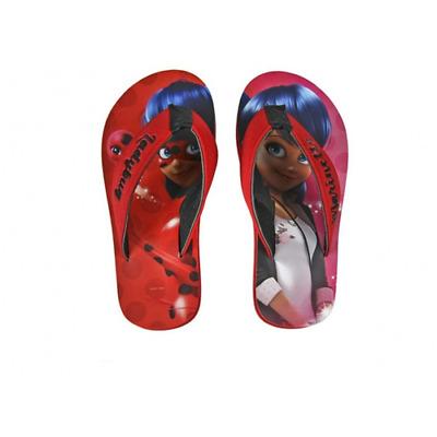 Miraculous Infradito Rossa Lady Bug Marinette Ciabatte 2744 Mare