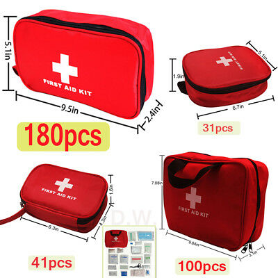 Emergency Medical Bag First Aid Kit Waterproof Treatment Case Survival Safe FDA