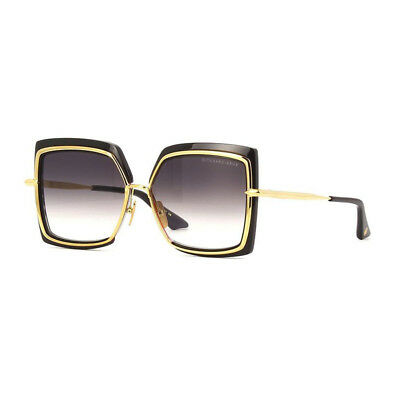 f652c1695fe Gafas sol Sunglasses Original DITA Narcissus DTS 503 01 Black Gold Grey  grad NEW