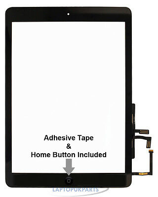 New Replacement Touch Screen Digitizer Black For A1823 Ipad