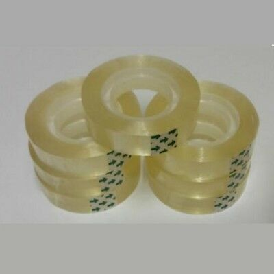 Sellotape 12mm x 30m Sticky Clear Transparent Tape Mini / Small Rolls