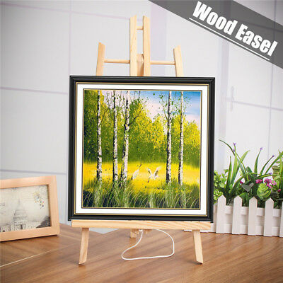 19''/16'' Wooden Easel Tablet Stand Table Display Art Painting Craft A4/A3 50cm