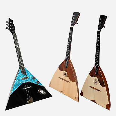 Heartland Prima Balalaikas, Russian Balalaika, Electric and Acoustic Balalaika