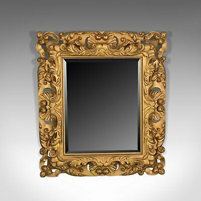 Vintage Giltwood Wall Mirror, Classical Taste, Latter Part of 20th Century