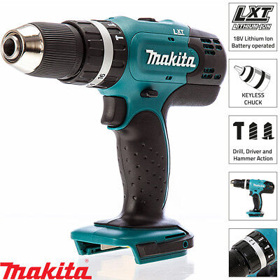 Makita DHP453Z 18v 13mm 2 Speed LXT Combi Drill Naked Body Only
