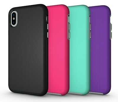 FUTLEX ShockProof Hybrid Rugged Case Cover TPU for iPhone 8 7 Plus X XS Max XR