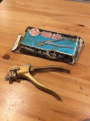 Vintage Somax Saw Set; Old Tool; No.250; Collectable; Unique; Made In Japan