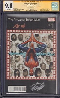 Amazing Spider-Man #1 Hip Hop Variant CGC SS 9.8 Stan Lee and Del Mundo!