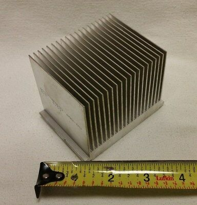 3 inch Large Heat Sink Aluminum Assy 9y692 A/T 4703 Low Thermal Resistance