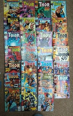 The Mighty Thor volume 2 issues 1-27.