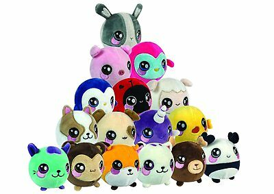 Squishamals Squeezamals - Super soft, super squishy scented plush characters NEW