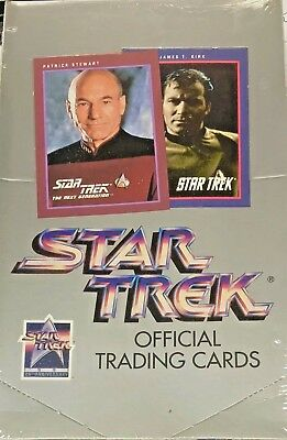 Impel Star Trek 25th Anniversary Official Trading Cards Factory Sealed Box 1991