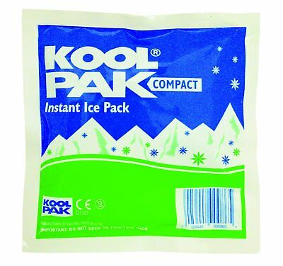 Koolpak Compact Instant Ice Pack, Pack of 20 NEW