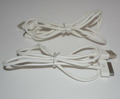 White 3FT USB Data Sync Cable Cord Charger for iPhone 4 4G 4S 3GS iPod Touch 4G