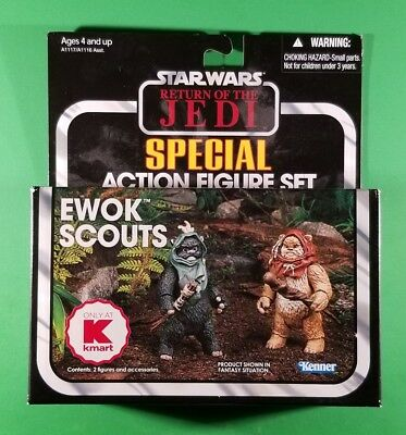 Star Wars: Return of the Jedi - Ewok Scouts Action Figure Set