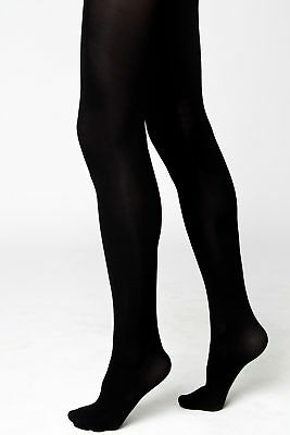 Ladies Womens Thick Thermal Fleece Lined Full Foot Tights Winter  High Waisted