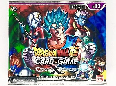 Dragon Ball Super TCG - Cross Worlds Booster Box
