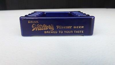 Vintage WALTER'S BREWING Co Ashtray