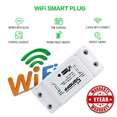 3pack Sonoff ITEAD Smart Home WiFi Wireless Switch Module For Apple Android USA