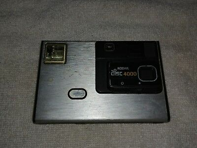 AS IS Kodak Disc 4000 Camera Compact Pocket Vintage Collectible